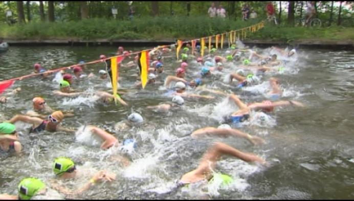 Retienaar Bart Borghs net te laat voor triatlon van Retie