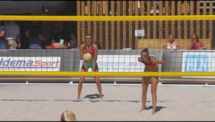 Kempense duo's spelen sterk in BK-manche beachvolley in Genk
