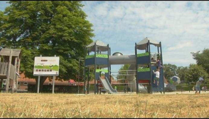 Speeltuin in Turnhouts stadspark vernieuwd