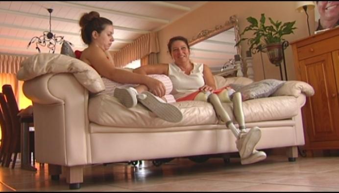 Lieva Vervoort denkt alleen vooruit, een jaar nadat ze haar benen verloor