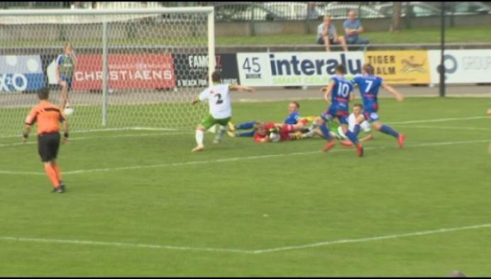 18-jarige doelman is bij debuut man van de match bij Dessel