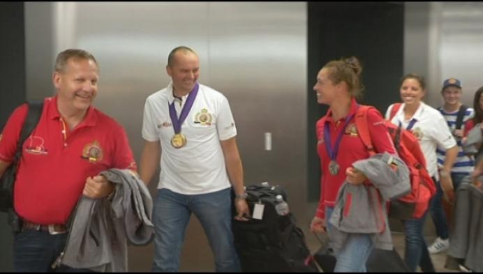 Reiningteam terug thuis na medailleoogst op Wereldruiterspelen