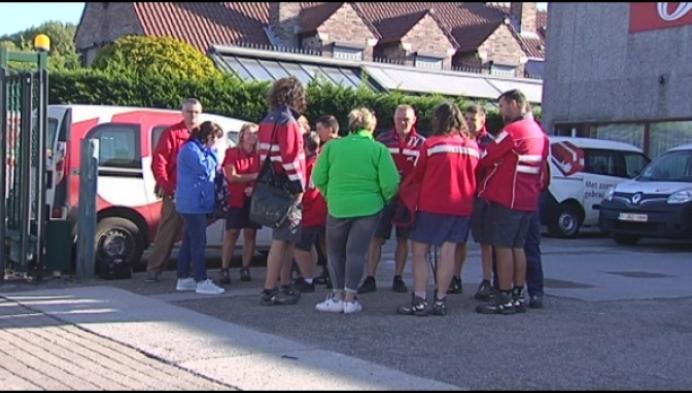 Spontane staking bij Bpost in Sint-Katelijne-Waver