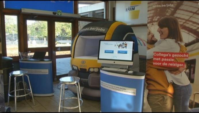 NMBS zoekt treinbestuurders met Desiro-simulator