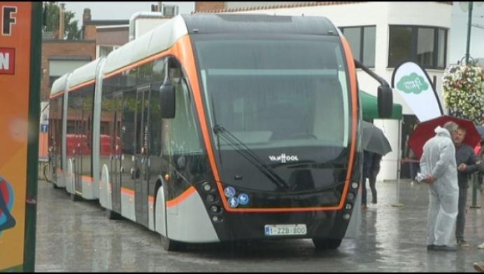 Hybride bus in Heist?