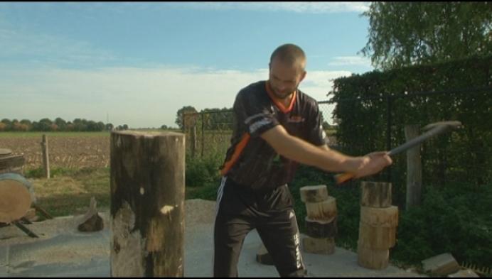 Gelenaar waagt kans op WK 'houthakken' in Liverpool