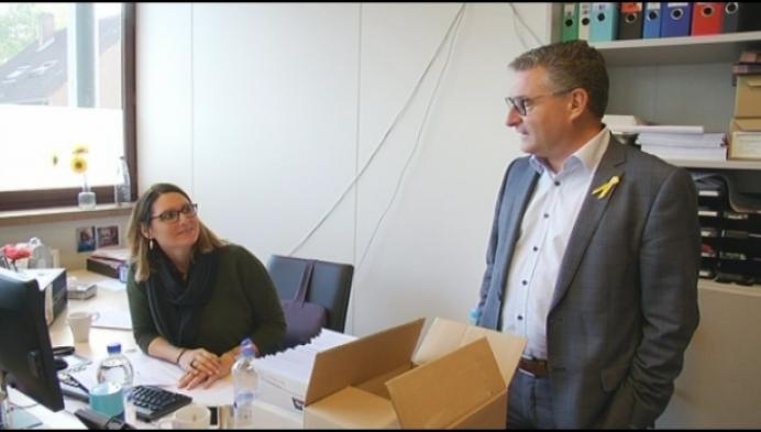 Koen Van Den Heuvel wint harten in Sint-Amands
