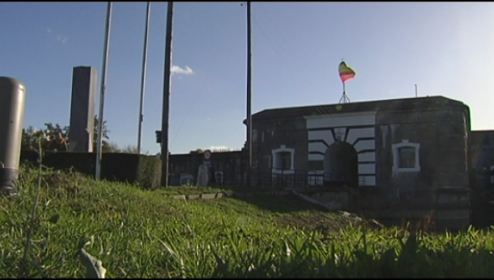 Fort Van Liezele op 11 november