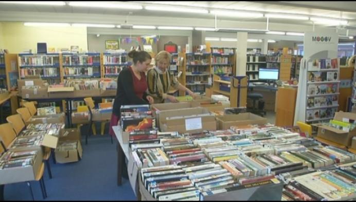 Retiese bib verkoopt zondag zo'n 2000 boeken