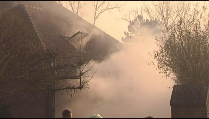 Woningbrand in Wiekevorst: brandweer ontdekt achteraf cannabisplantage