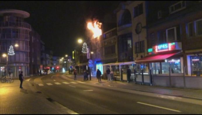 Brand vernielt appartement in centrum van Mol