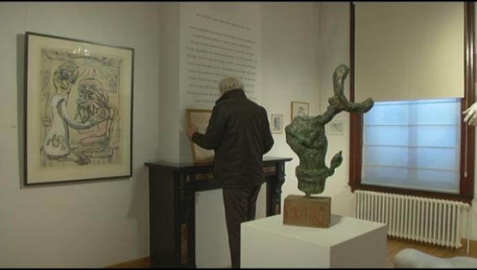 Nieuw pronkstuk expo is 'hand' van Leopold 2
