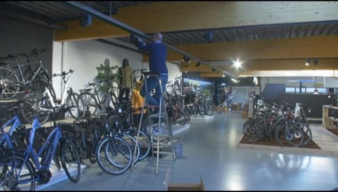 Nieuwe fietswinkel in Geel moet leegstand tegengaan