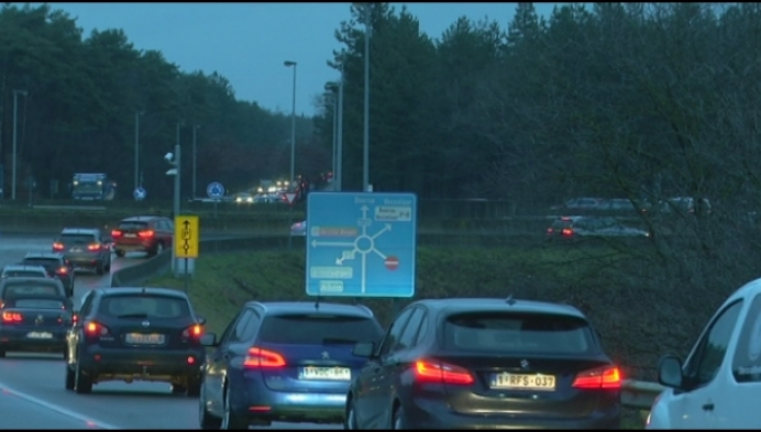 Files op snelwegafrit in Beerse worden steeds langer
