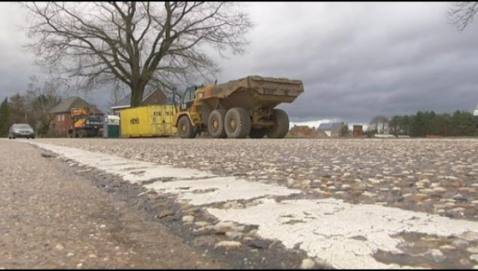 Weg tussen Meerhout en Geel 2 jaar afgesloten