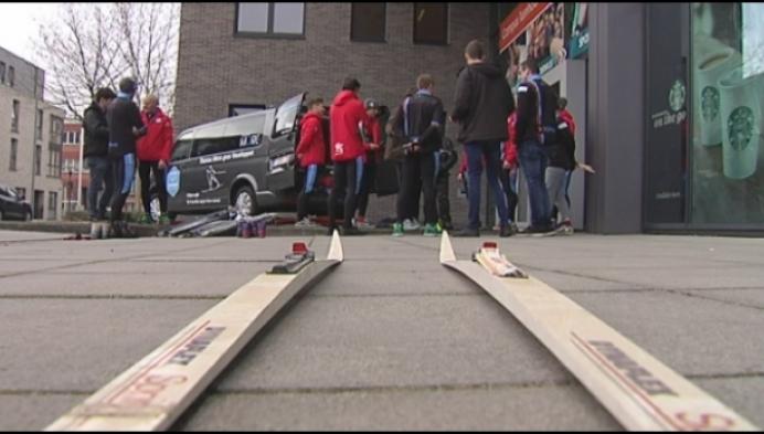 Hogeschool gaat langlaufen in Zweden voor KOTK