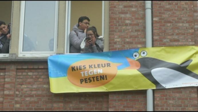 Mechelse Ursulineschool wint 'Pesten, dat kan niet-prijs'