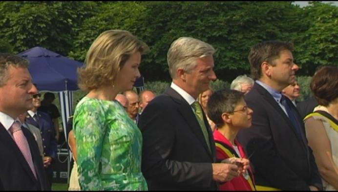 Koning zegt bezoek aan Van Hool af door sociaal conflict