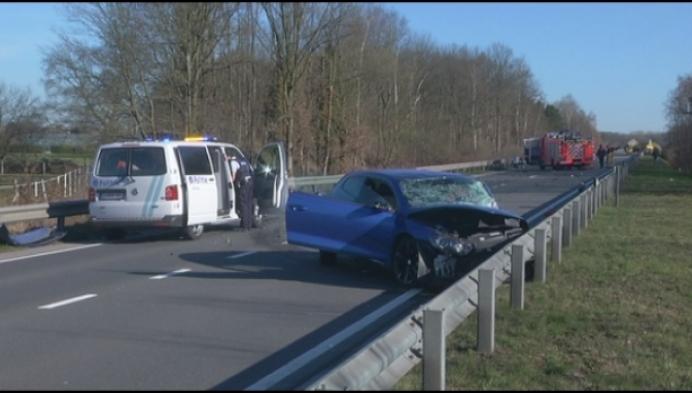 Ongeval op R6 in Sint-Katelijne-Waver