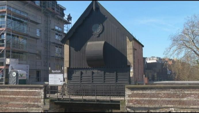 Eeuwenoude Spuihuis voortaan toegankelijk tijdens stadswandeling