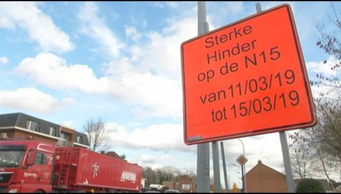 Volgende week veel verkeershinder in Heist-op-den-Berg