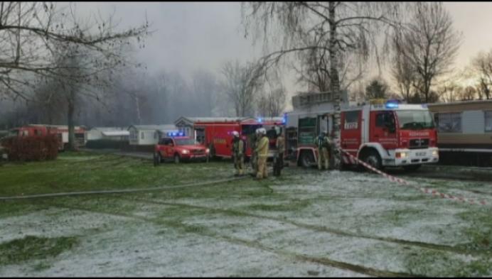Twee dodelijke slachtoffers bij chaletbrand Noorderwijk