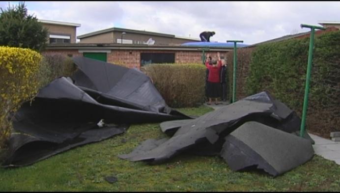 Ook in regio Mechelen nog veel stormschade