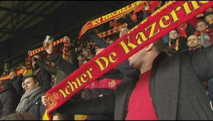 Fans door het dolle heen na titel van KV Mechelen