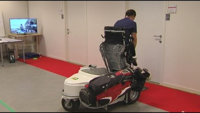 Golfen in een rolstoel: het kan!