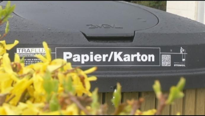 Grobbendonk installeert papier- en kartoncontainers