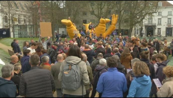 """""""Vanaf nu zingen we elke zaterdag voor het klimaat in Mechelen"""""""
