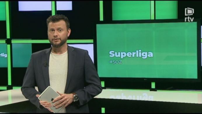 Superliga speeldag 28