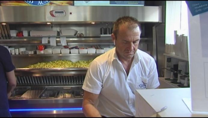 Laatste loodjes richting wereldrecord frieten bakken wegen