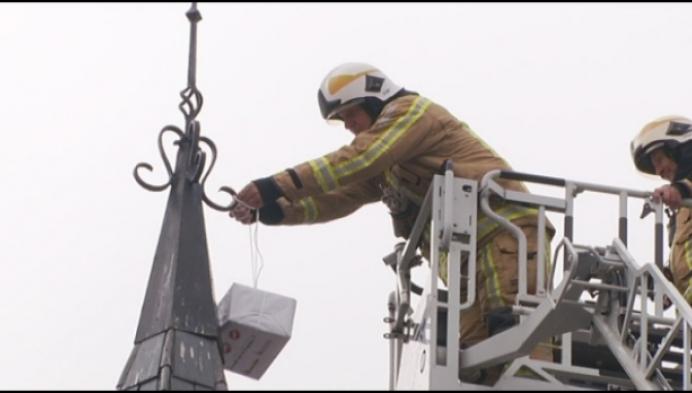 Bijzondere laatste interventie voor brandweerman Willy