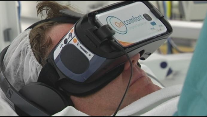 Sint-Dimpna ziekenhuis kalmeert patiënten met virtual reality