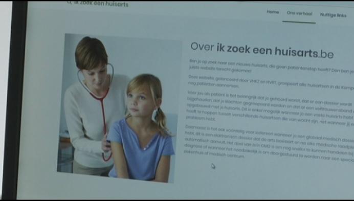 Website helpt patiënten bij zoektocht naar huisdokter
