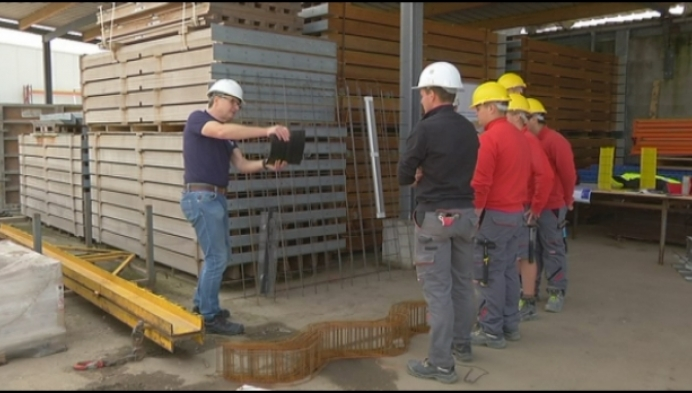 Leren op de werkvloer bij Olens bouwbedrijf