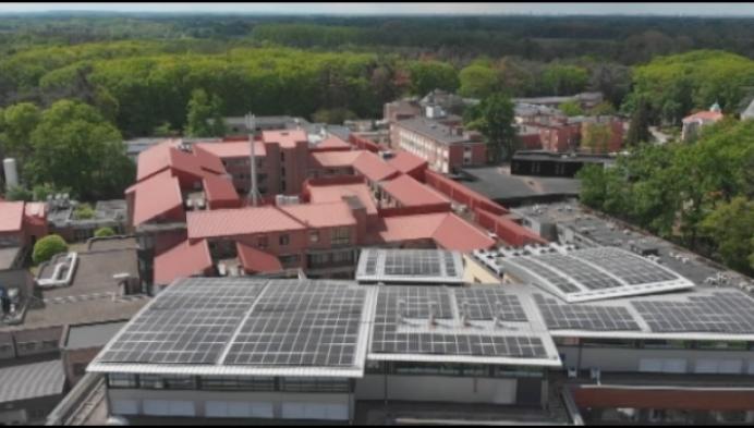 1100 zonnepanelen op dak van Imeldaziekenhuis
