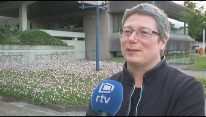 Euforie bij Els Sterckx van VLAAMS BELANG in Herentals