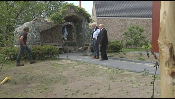 Bekende Lourdesgrot Sint-Jan-Weelde in ere hersteld