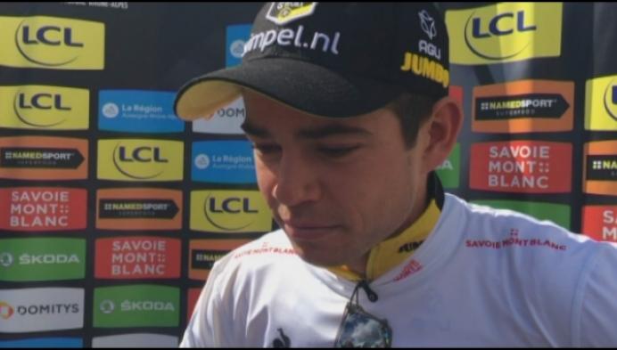 Straf: beresterke Wout Van Aert wint tijdrit in Dauphiné