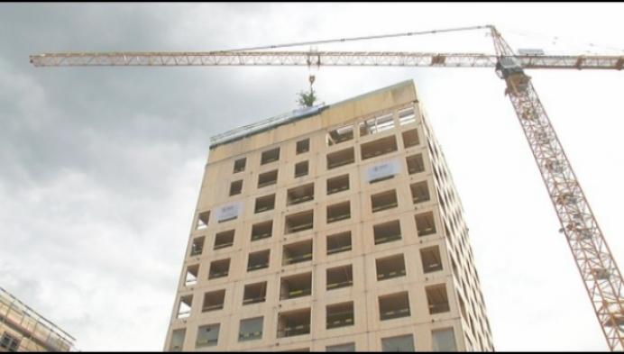 Astortoren is hoogste hybride gebouw van Vlaanderen