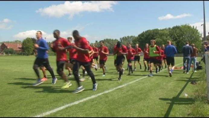 Veel aandacht voor eerste training van KV Mechelen