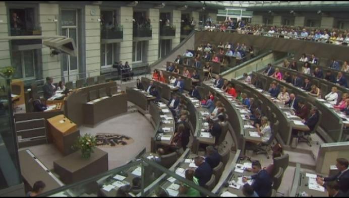 Kempense politici leggen eed af in Vlaams parlement