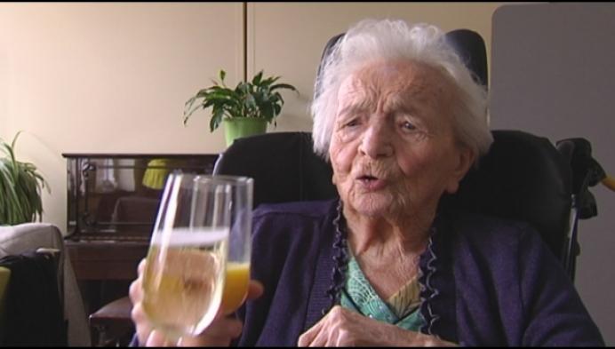 Maria Van der Auwera viert 105de verjaardag