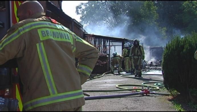 Huis in Zittaart onbewoonbaar na brand