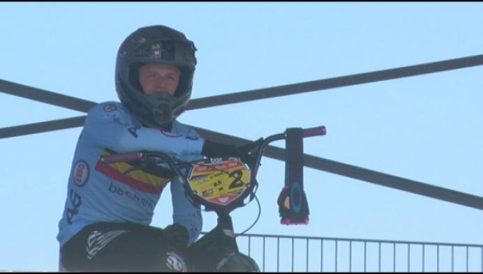 Wannes Magdelijns wereldkampioen BMX bij 15-jarigen