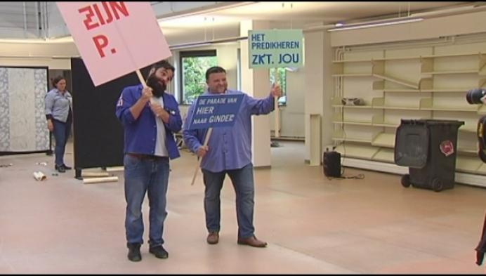 Grote parade kleurt verhuis Mechelse bibliotheek