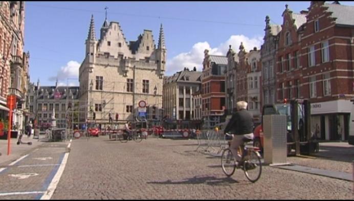 Opbouw Maanrock in Mechelen is gestart