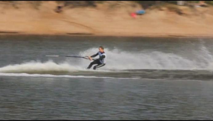 Belgisch kampioenschap waterski na 13 jaar weer in Mechelen